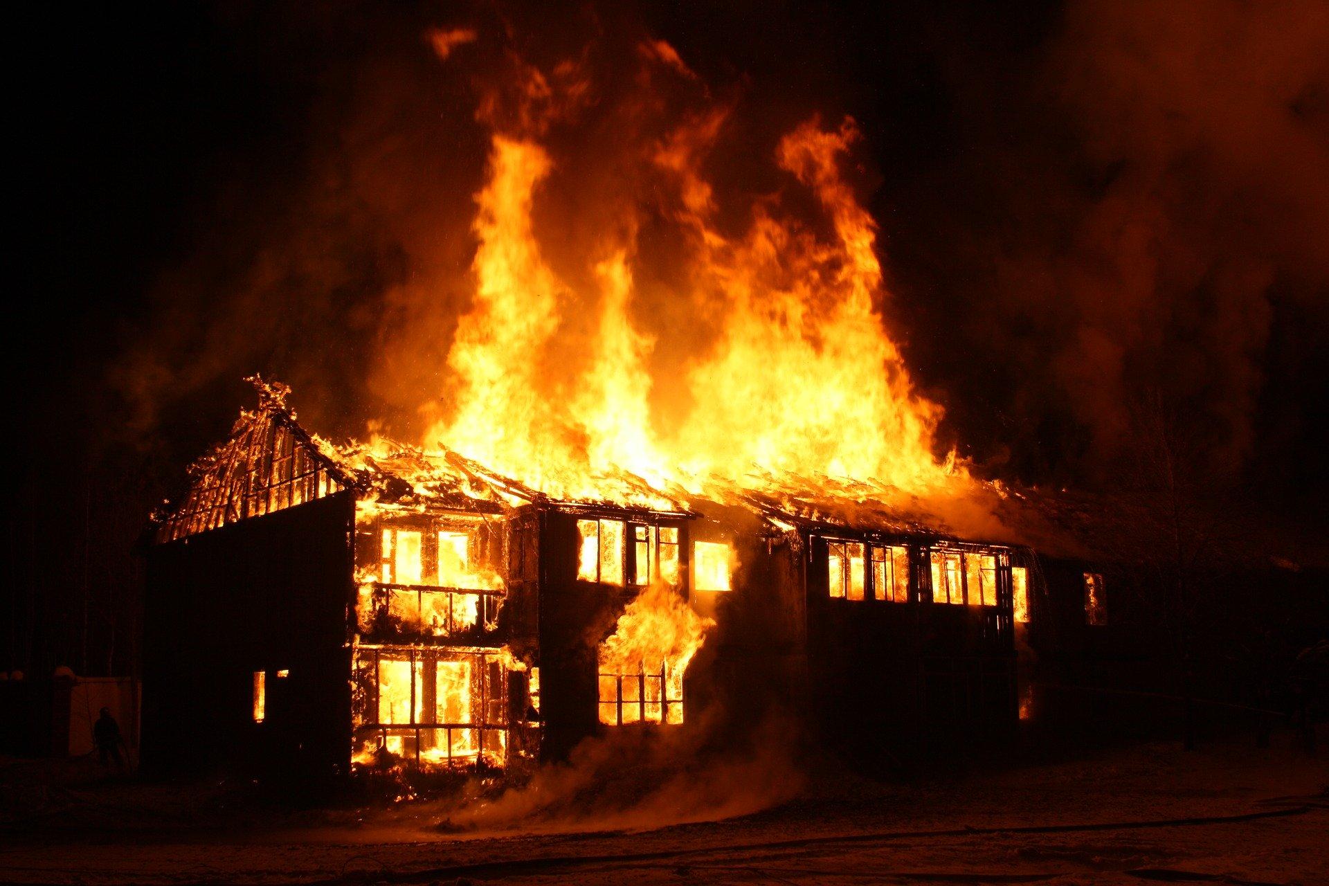 incendies domestiques